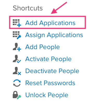 okta shortcuts
